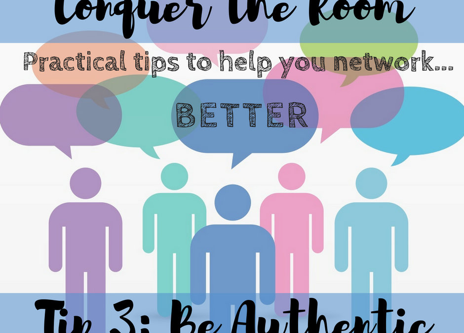 What are You Dressing Up as? Conquer Networking Tip #3