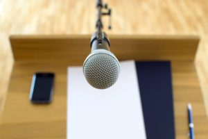 microphone, networking, debate