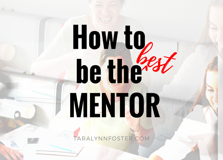 IMentorSoHard: How to be the Best Mentor Ever
